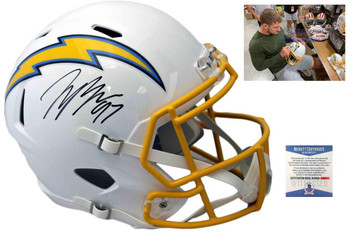 Joey Bosa Autographed Signed Speed Helmet