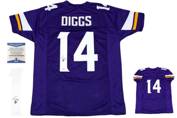 Stefon Diggs Autographed Signed Jersey - Purple