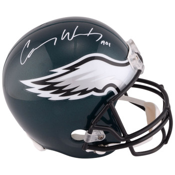 Philadelphia Eagles Carson Wentz Autographed Signed Speed Helmet