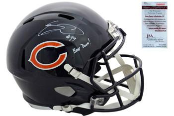 Eddie Jackson Autographed Signed Speed Helmet