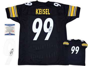 Brett Keisel Autographed Signed Jersey - Black