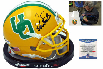 Oregon Ducks Dan Fouts Autographed Signed Mini Helmet