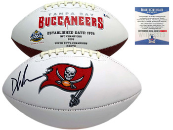 Buccaneers Devin White Autographed Signed Football