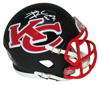 Kansas City Chiefs Travis Kelce Speed AMP Mini Helmet