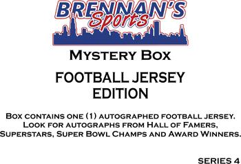 AUTOGRAPHED FOOTBALL JERSEY MYSTERY BOX - SERIES 4