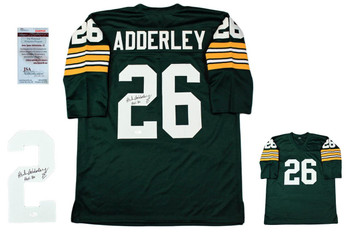 Herb Adderley Autographed Signed Jersey