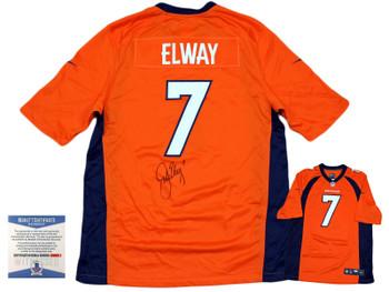 Denver Broncos John Elway Autographed Signed Nike Gameday Jersey