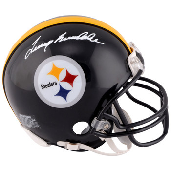 Terry Bradshaw Autographed Signed Pittsburgh Steelers Mini Helmet