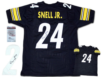 Benny Snell Autographed Signed Jersey - Black
