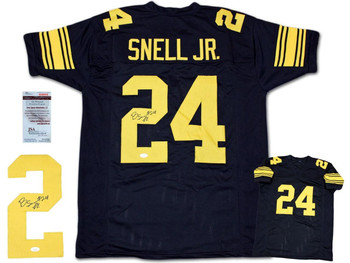 Benny Snell Autographed Signed Jersey - Throwback