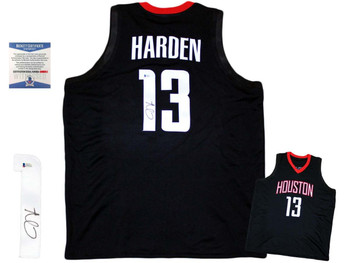 James Harden Autographed Signed Jersey - Black