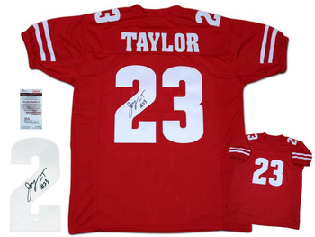 Jonathan Taylor Autographed Signed Jersey - Red