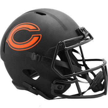Chicago Bears Eclipse Riddell Speed Replica Football Helmet