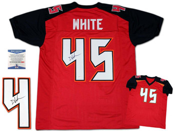 Devin White Autographed Signed Jersey