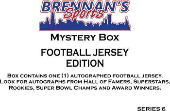 AUTOGRAPHED FOOTBALL JERSEY MYSTERY BOX - SERIES 6