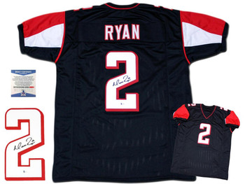 Matt Ryan Autographed Signed Jersey - Black