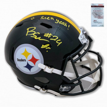 Steelers Benny Snell Autographed Signed Speed Helmet