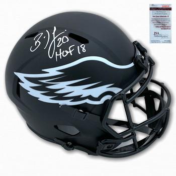 Eagles Brian Dawkins Autographed Signed Eclipse Helmet - HOF