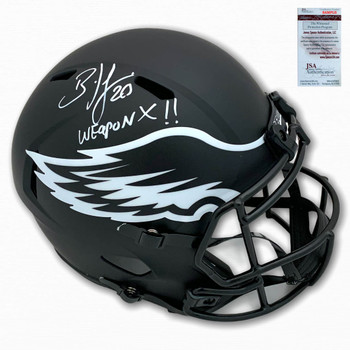 Eagles Brian Dawkins Autographed Signed Eclipse Helmet - Weapon X
