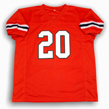 Ed Reed Jersey - Orange - College Style - Unsigned