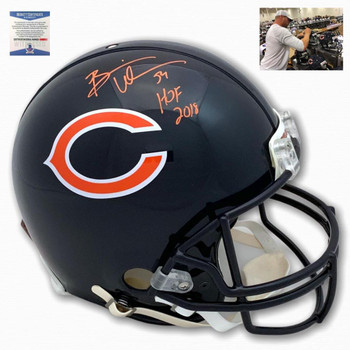 Chicago Bears Brian Urlacher Signed Authentic Helmet