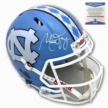 Tar Heels Mitchell Trubisky Autographed Speed Helmet