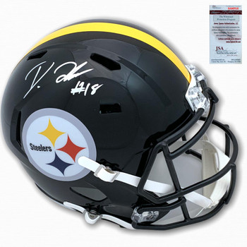 Steelers Diontae Johnson Autographed Signed Speed Rep Helmet