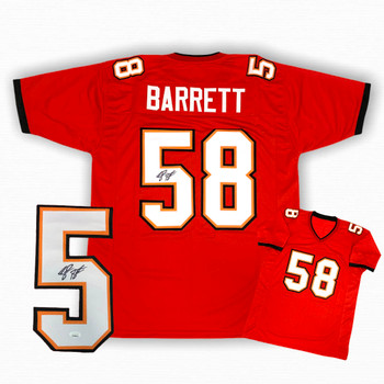 Shaquil Barrett Autographed Signed Jersey - Red - JSA Authentic