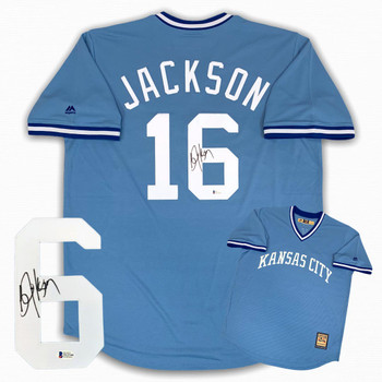 Royals Bo Jackson Autographed Signed Jersey