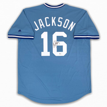 Royals Bo Jackson Autographed Signed Jersey - Beckett Authentic