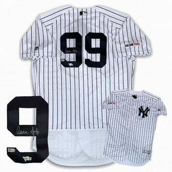 Yankees Aaron Judge Autographed Signed Authentic Jersey - PS