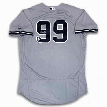 Yankees Aaron Judge Autographed Signed Authentic Jersey - Gray - Fanatics