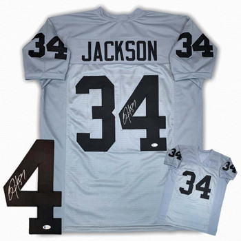Bo Jackson Autographed Signed Jersey - Gray