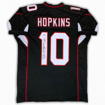 DeAndre Hopkins Autographed Signed Jersey - Black - Beckett Authentic