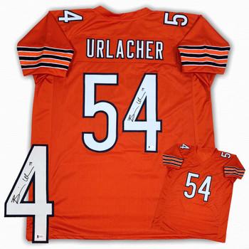 Brian Urlacher Autographed Signed Jersey - Orange