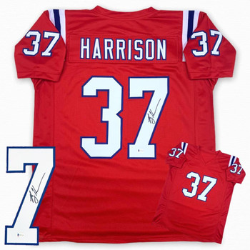 Rodney Harrison Autographed Signed Jersey - Red - Beckett Authentic