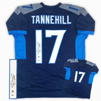 Ryan Tannehill Autographed Signed Jersey - Navy - Beckett Authentic
