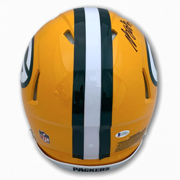 Packers Davante Adams Autographed Signed Full Size Authentic Helmet - Speed - Beckett