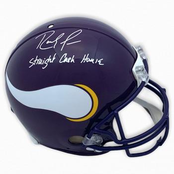 Vikings Randy Moss Autographed Signed Authentic Helmet