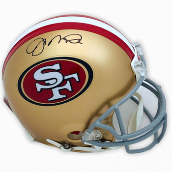 49ers Joe Montana Autographed Signed Authentic Helmet