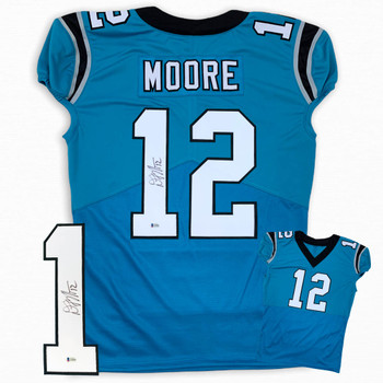 Dj Moore Autographed Signed Jersey - Game Cut Style