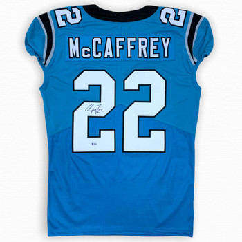 Christian McCaffrey Autographed Signed Jersey - Game Cut Style - Beckett Authentic
