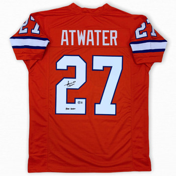 Steve Atwater Autographed Signed Jersey - Orange - Beckett Authentic