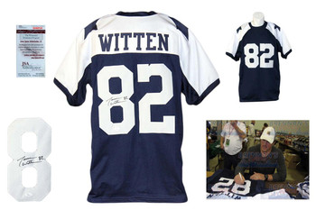 Jason Witten Autographed Signed Thanksgiving Jersey - JSA Witnessed
