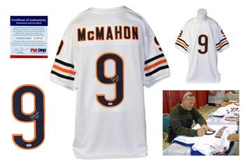 Jim McMahon Autographed Signed Jersey - PSA DNA Authentic - White