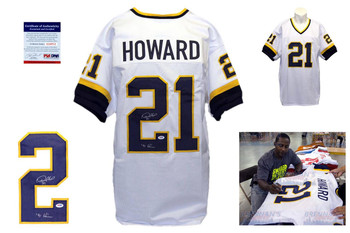 Desmond Howard Signed Jersey - PSA DNA - Michigan Wolverines Autographed