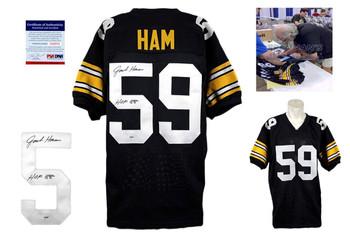 Jack Ham Autographed Signed Jersey - Black