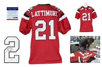 Marcus Lattimore Autographed Signed South Carolina Gamecocks Jersey PSA DNA