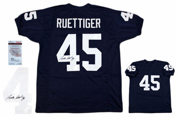 Rudy Ruettiger Autographed Signed Jersey - JSA Witnessed