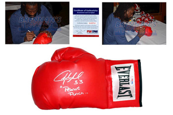 Charles Tillman Signed Everlast Boxing Gloves - PSA DNA - Chicago Bears Autograph LS